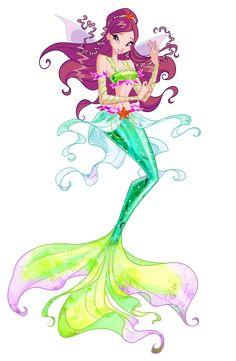 Roxy Mermaid by Forgotten-By-Gods on DeviantArt, Winx Club Bloom Winx Club, Les Winx, Mermaid Coloring, Mermaids And Mermen, Merfolk, Mermaid Art, Magical Creatures, Pictures To Draw, The Little Mermaid