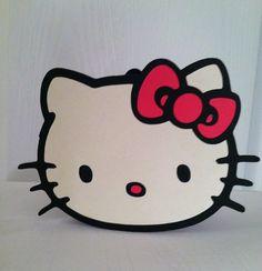 Hello Kitty Card Hello Kitty Birthday Card by PartiesbySandraDee