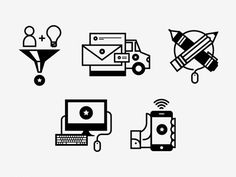 Services Icons  by Scott Hill
