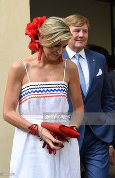 King Willem-Alexander and Queen Maxima of The Netherlands leaves the Cenacolo Vinciano in the Refectory of the Convent of Santa Maria delle Grazie on June 22, 2017 in Milan, Italy.  (Photo by Pier Marco Tacca/Getty Images)
