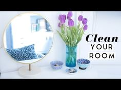 How to Deep Clean Your Room | Organize Your Life Episode 1 | Hermione Chantal - YouTube