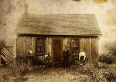 Early-mid Oil Springs - close to Petrolia: Pioneers.Southern Ontario, Canada, the home of the very first commercial oil well in North America. Pioneer Day, Pioneer Life, Pioneer House, Pioneer Women, Canadian History, American History, Old Pictures, Old Photos, Vintage Photographs