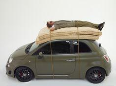 Il mondo di Lapo. Fiat 500 Lapo.