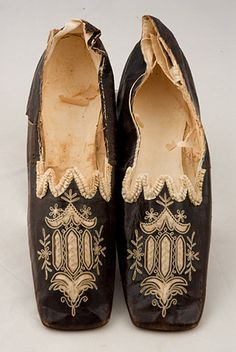 Lady's Chameleon Shoes, circa 1830-1850