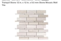 Jeffrey Court Tranquil stone tile for my backsplash