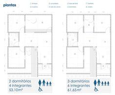 Galeria de Habitação de Interesse Social Sustentável / 24.7 arquitetura design - 11