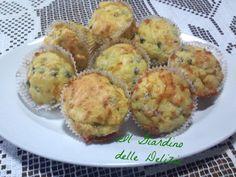 Muffin piselli e carote