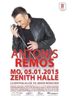Antonis Remos aus Griechenland in München Deutschland am 05.01.2015
