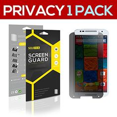 SOJITEK Motorola Moto X (2nd Gen 2014) Premium Anti-Glare Matte Anti-Spy Privacy Screen Protector [1 Pack] - Lifetime Replacements Warranty   Retail Packaging >>> Continue to the product at the image link.
