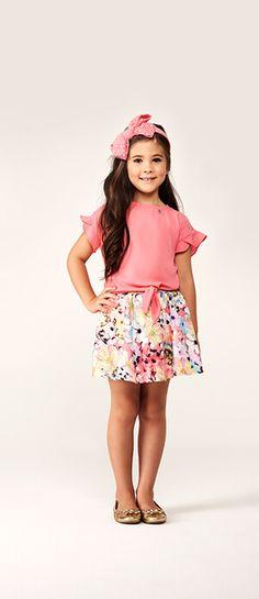 Lookbook | Animê Cute Girl Outfits, Kids Outfits, Little Girl Fashion, Kids Fashion, Baby Dress Design, Girls Dresses, Summer Dresses, Girls World, Baby Sewing