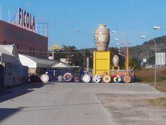 maior vaso de ceramica do mundo...