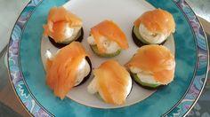 Gurken-Lachs-Häppchen, ein gutes Rezept aus der Kategorie Snacks und kleine Gerichte. Bewertungen: 89. Durchschnitt: Ø 4,4.