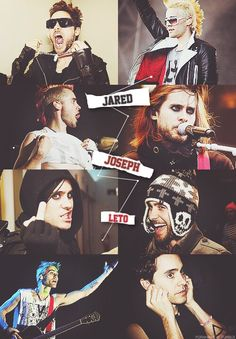The many faces of Jared❤️