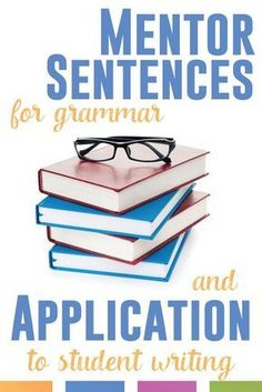 Take sentences from literature and nonfiction - and study grammar. Tada! Grammar mentor sentences - and engaged students!