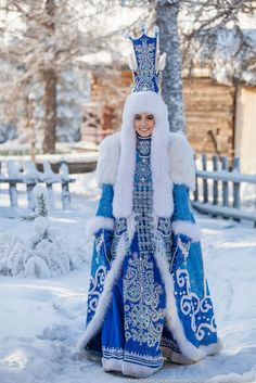 Yakut clothing. Designer: Avgustina Filippova (#Yakutia). photo: A.Cheban