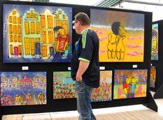 Anita Ammerlaan - Roosendaalse kunstenaar Anita Ammerlaan wint 1e prijs op Henk Veen Kunstplein Keukenhof 2013