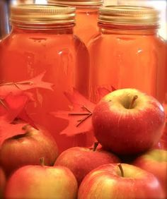 Use your juicer to make homemade apple juice, can to store for later.