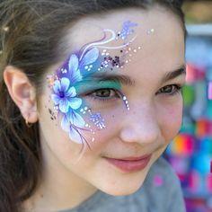 Eye designs for teenagers#facepainting #brisbanefacepainter #melissakfacepainting #brisbanebirthdays #