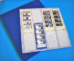 Photobooth Scrap Book Wedding Guest Book for Photo by MySweetDay, $160.00