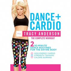 Tracy anderson:Dance plus cardio (Dvd) Lose 10 Pounds In A Week, Losing 10 Pounds, 20 Pounds, Losing Weight Tips, Lose Weight, Weight Loss, Weight Lifting, Tracy Anderson Diet, Planks