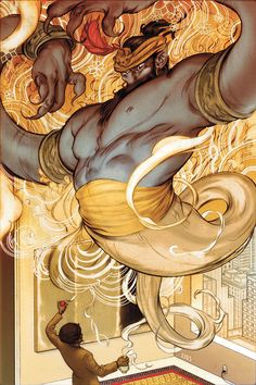 Fables/Covers #43 by James Jean ( graphic novels By Bill Willingham)