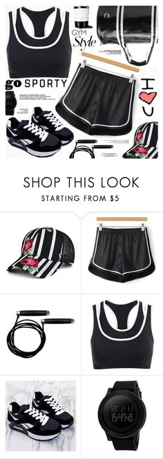"""""""Work It Out: Gym Essentials"""" by katjuncica ❤ liked on Polyvore featuring Fred Perry, adidas and gymessentials"""