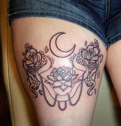 Sailor Moon Tattoo by KaryuuNoTekken on deviantART