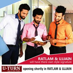 Create your own #style statement! Empire of Men's #fashion soon to be reveled at #Ratlam and #Ujjain.