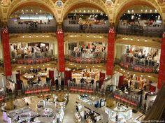 Shopping centre, Paris