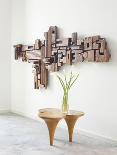 Phillips Collection - every piece of conversation Cool Woodworking Projects, Woodworking Furniture, Diy Wood Projects, Wood Crafts, Woodworking Plans, Woodworking Apron, Popular Woodworking, Scrap Wood Art, Wooden Wall Art