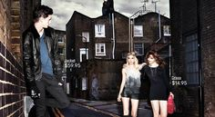 Alex Dunstan for H&M Divided The Alley Campaign