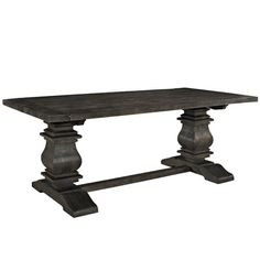 Found it at Wayfair - Column Wood Dining Table