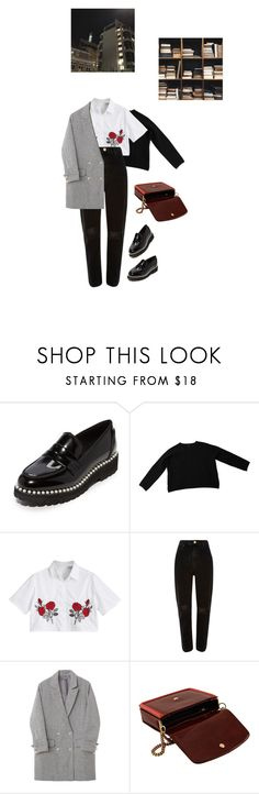 """""""trodden"""" by paper-freckles ❤ liked on Polyvore featuring Suecomma Bonnie, COS, River Island and STELLA McCARTNEY"""