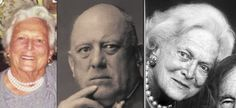 Barbara Bush matches her real father, Aleister Crowley to near perfection. The face and eyes, it's all very clear.