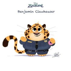 Clawhauser - Zootopia