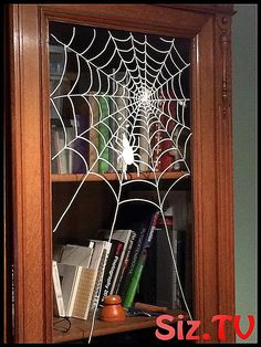 Chalk marker on window halloween spider web Chalk marker on window halloween spider web Chalk Pens, Chalk Markers, Chalk Art, Halloween Spider, Fall Halloween, Halloween Crafts, Halloween Makeup, Halloween Door, Halloween Ideas