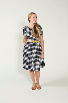 AMELIA DRESS — LuLaRoe.  Comes in other prints! pockets, shop, belt, stretch, and SHOES!!