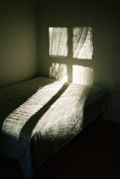 The windows in the house I grew up in were quite old, so they had shadows like this. I guess it is because glass is slowly melting, resulting in some areas being thicker than others...or did I dream that? (Jeremie Egry's snapshot?)