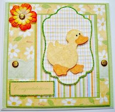Daisy chick on Craftsuprint designed by Angela Wake - made by Jennie Furness -