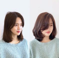 Pin on Korean Pin on Korean Haircuts For Medium Length Hair Layered, Short Hairstyles For Thick Hair, Haircuts For Fine Hair, Short Hair With Layers, Medium Hair Cuts, Medium Hair Styles, Hair Cut Pic, Shoulder Length Hair With Bangs, Korean Short Hair