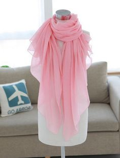 Trendy Simple Solid Color Scarf For Women Cheap Scarves, Pink Scarves, Beach Accessories, Fashion Accessories, Accessories Online, Phone Accessories, Cheap Clothes, Diy Clothes, Fashion Sale
