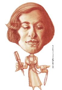Silvina Ocampo, Argentine writer, painter, and poet of exquisite talent.