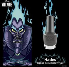 Chanel Your Inner Villain With The Villains Collection From Morgan Taylor! Disney Inspired Nails, Morgan Taylor, Disney Villains, Color Street, Joker, Darth Vader, Chanel, Bts, Pretty
