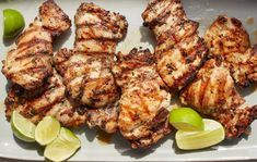Ginger-Lime Chicken Recipe - NYT Cooking Tandoori Chicken, Red Curry Chicken, Turkey Recipes, New Recipes, Dinner Recipes, Clean Recipes, Dinner Ideas, Summer Recipes, Favorite Recipes