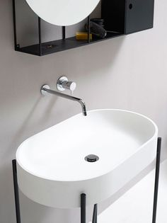 Minimalist Bathroom Furnishings by Norm Architects for Ex.t - NordicDesign