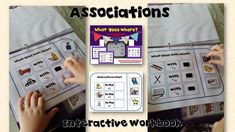 2 Vocabulary task books for students with Autism