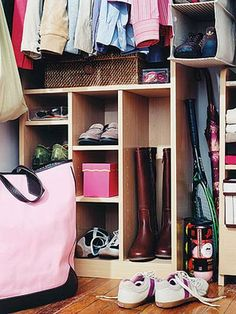 No matter what your closet's square footage, there are smart, simple and stylish ways to solve your storage dilemmas.