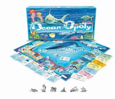 Product Detail - OCEAN-OPOLY |  Late for the Sky $24.95