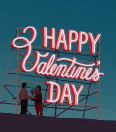 """Happy Valentines Day"", 2014, by Studio Eillo.  Tatsushi Eto (Studio Eillo) is a creative director/illustrator working in Tokyo. He specializes in illustration, hand lettering and pattern design.   www.studioeillo.com/"