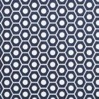 Queen B in midnight. Studio Bon Textiles via Design Sponge.